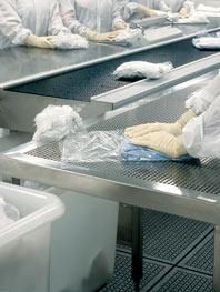 Cleanroom clothing sterilization process