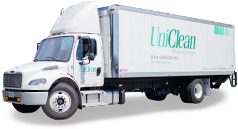 UniClean Cleanroom Services Truck